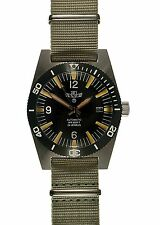 Military Industries 1970s Pattern Automatic Divers Watch (Grey Band) NO RESERVE!