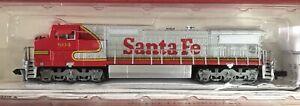 N Scale Bachmann Spectrum GE Dash 8-40CW Diesel Locomotive Santa Fe ATSF 804