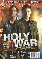 Supernatural Magazine 9 Jared Padelecki Jensen Ackles Misha Collins NM