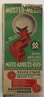 Stadt Leipzig Amtliches Leipziger Mess-Adress-Buch Bd 1 Mustermesse 1932 sf