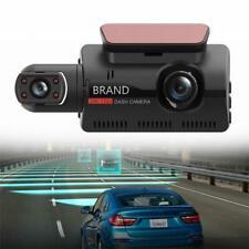 3in Touch Screen Night Vision DVR Camera Dual Len Car Dash Cam Video Recorder