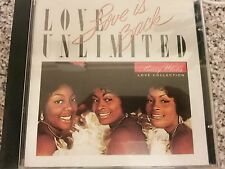 love unlimited love is back -CD Priority Records ‎– P2 7084