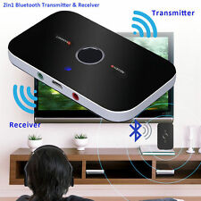 Bluetooth Transmitter Receiver Wireless 3.5mm Audio Stereo Music Adapter Speaker