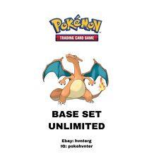 Pokemon WOTC Base Set UNLIMITED Commons/Uncommons - Pick & Build a Set - LP-NM