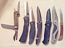 RARE HUBBARD SPENCER BARTLETT KNIFE HIGHLY COLLECTABLE!-6 MODERN KNIVES ALSO!