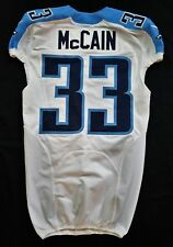 #33 Brice McCain Authentic Nike Tennessee Titans Game Issued Jersey