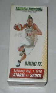 NEW! LAUREN JACKSON BOBBLEHEAD WNBA SEATTLE STORM  SGA 2010