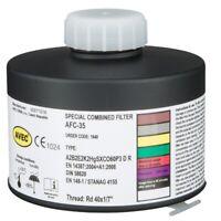 AVEC CHEM Atemschutzfilter für Partikel, Gas Rd 40 A2B2E2K2HgSXCO60P3 Atemschutz