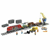 New Train City Lego 02010 GIFT Cargo Car Building Block branded B'day toy