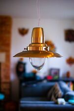 Fisherman Metal/Glass Large Pendants Easy Fit Coolie Ceiling Light Lamp Shades