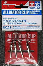 Tamiya 74528 Alligator Clip for painting Stand 4 PCS