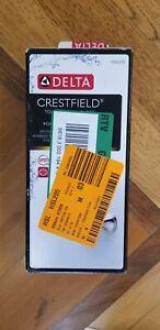 Delta Crestfield Pivoting Double Post Toilet Paper Holder Brushed Nickel 138035