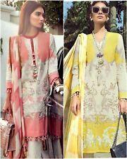 Sana Safinaz Replica Lawn Pakistani Shalwar Kameez Yellow Pink White Dupatta Eid