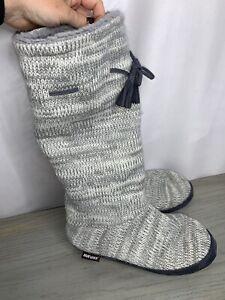 Mukluks Knit Boots Booties Socks  Slippers Sz 7/8