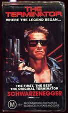 Terminator  VHS 1980's Action Sci FI Home Video PAL