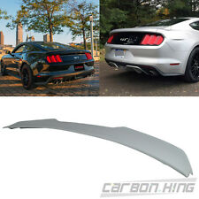 Unpaint ABS Ford Mustang GT Shelby V Style Trunk Boot Spoiler 15-17 Coupe 2D