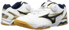 New Mizuno Table Tennis Shoes Wave Medal Sp3 81Ga1512 White Gold Us6-Us9.5