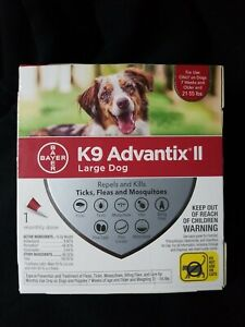 Bayer K9 Advantix II for Large Dogs 21to 55 lbs