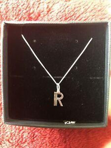 Rachell Jackson London Art Deco Silver Necklace R