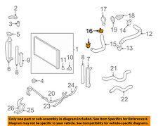 TOYOTA OEM Radiator-Lower Hose Clamp 9046635001
