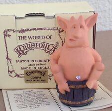 Krystonia Dragon figurine Gorph statue box paper World of, mini, Panton, England