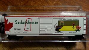 MTL Micro Trains 07700153 SK SASKATCHEWAN PROVINCIAL 50' Boxcar #1905