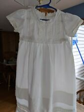 Child's Cotton Dress for Christening or Theatre