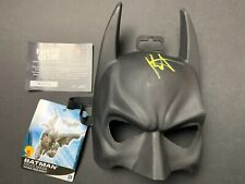 Batman Mask Signed By Roger Craig Smith Voiced Animated Batman BAM BOX AUTO COA