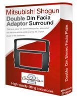 Mitsubishi Shogun stereo radio Facia Fascia adapter panel plate trim CD surround