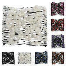 6pcs Stoff Eule Applique Pailletten nähen auf Kleidung Tasche DIY Stickerei