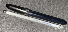 New listing Vinatge 1 Glass Cornell 9162 Veterinary Thermometer Ring Top In Pocket Case.