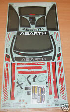 Tamiya 58444 Abarth 500 Assetto Corse/M05, 9495605/19495605 Decals/Stickers, NIP