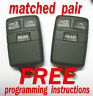 MATCHED PAIR GMC CHEVY CHEVROLET KEYLESS REMOTE ENTRY FOBS TRANSMITTERS ABO0104T
