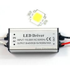 10W Warm White High Power LED Lamp Panel 10W High Power LED Driver AC85-265V