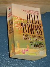 Hill Towns by Anne Rivers Siddons *FREE SHIPPING* 0061099694