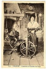 CPA 74 Haute-Savoie Costume Folklore Megève