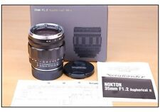 NIB Voigtlander Nokton 35mm f/1.2 Aspherical VM II for Leica M240 M9 P M7 MP M6