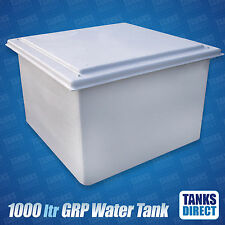 1000 Litre GRP Water Storage Tank | 25mm Insulated | 1000l | Cold Water Tank