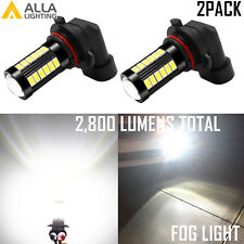 Alla Lighting 33-LED H10 Driving Fog Light Pure White 6000K Xenon Direct Replace