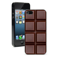 For Apple iPhone X XS Max XR 5 6 6s 7 8 Plus Hard Case Cover 1257 Chocolate Bar