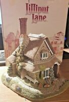 "BNIB!! RARE! Lilliput Lane ""JASMINE COTTAGE"" c.1991 With Deeds"