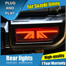 For Suzuki Jimny Dark / Red LED Rear Lamps Assembly LED Tail Lights 2018-2019
