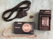 Samsung ST Series ST65 14.2MP Digital Camera - Blue~~Nr Mint~~4GB SD~~Bundle~~