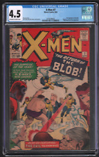 X-Men #7 9/64 CGC 4.5 Marvel 2nd Blob Magneto Scarlet Witch 042721DBCG