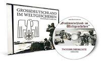 WK2 FOTO CD - 2 x FOTOALBUM GROSSDEUTSCHLAND IM WELTGESCHEHEN AUF CD 1940 + 1941