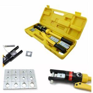 Hydraulische 10-300 mm² Zange Presszange Quetschzange Kabelzange Crimpzange