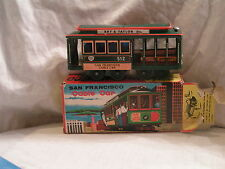 MADE IN JAPAN SAN FRANCISCO CABLE FRICTION CAR