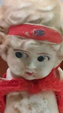 """Vintage Bisque Doll 6"""" Jionted Arms Made In Japan"""