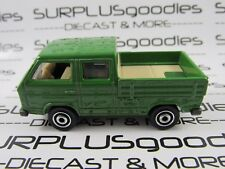 MATCHBOX 1/64 Scale LOOSE Collectible Green VOLKSWAGEN TRANSPORTER CAB Pickup