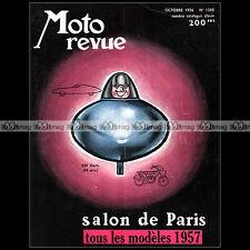 MOTO REVUE N°1308 ★ SPECIAL SALON DE PARIS ★ MODELES 1954 ★ PEUGEOT 250 TYPE 256